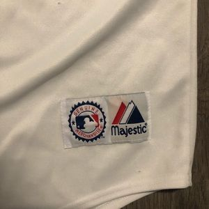 Majestic Shirts - MLB Texas Rangers White Jersey